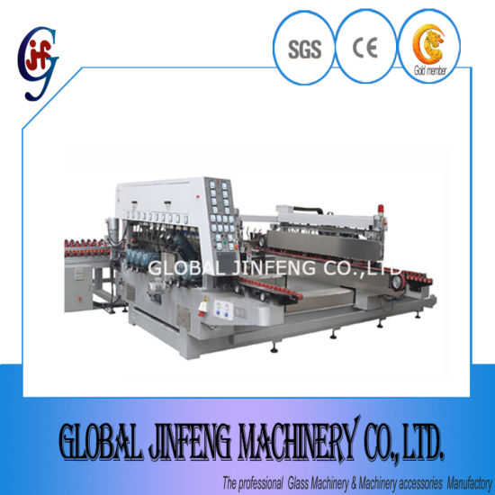 20 Motors Glass Straight Line Double Edge/Edging Grinding and Polishing Processing Machine with Ce Certificate (Jfsz-4200)