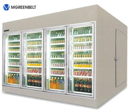 Glass Door Walk in Cooler / Freezer in America