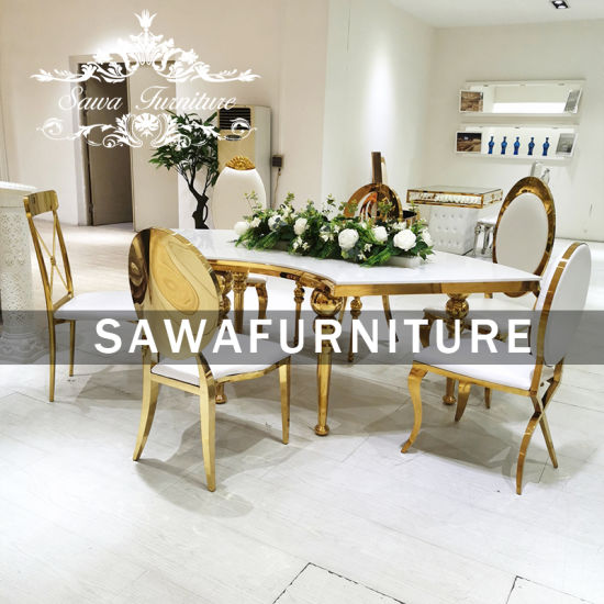 China Furniture Marble Dining Table Set