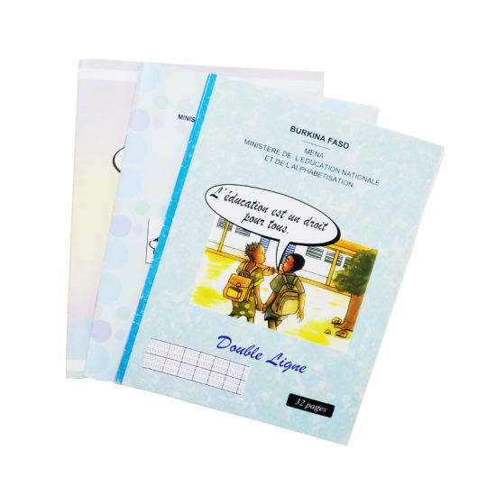 Free Sample Double Line Offest Print Exercise Book