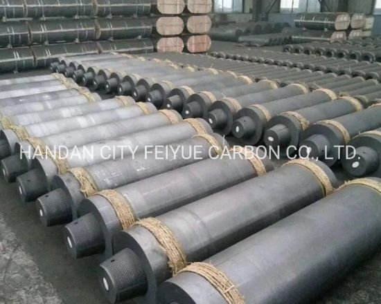 High Carbon Steel Making Eaf UHP HP RP IP Graphite Block Electrode