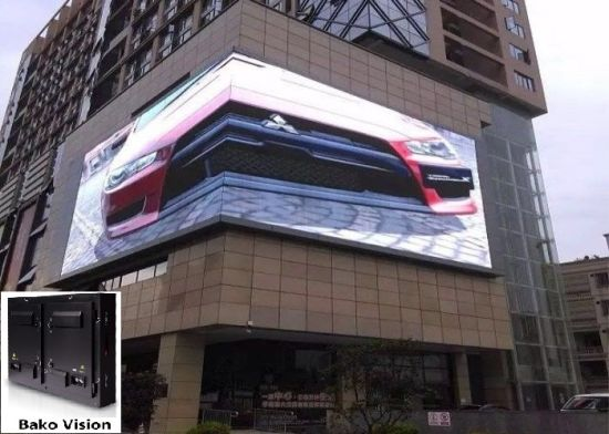 P6.67 P8 P10 Outdoor Fixed LED Billboard Display Screen for Advertising Events and Living Sport