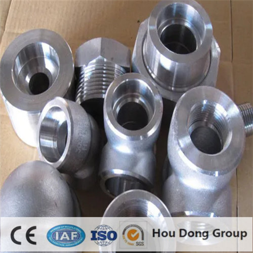 Pipe Fitting of Stainless Steel Forged Elbow