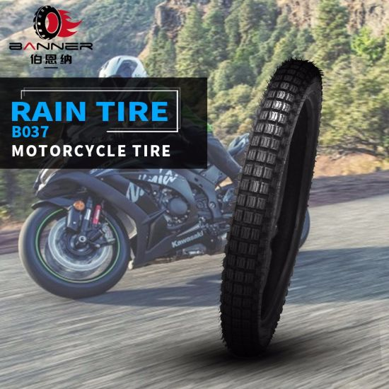 20 Years ISO9001 Factory Original Technology Skid Resistance Motorcycle Tire Motorbike Rubber Tyres for American European Motorcycle B037 3.50-18