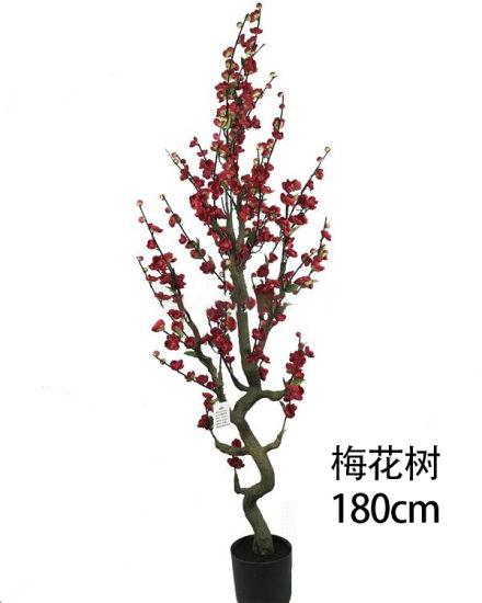 Vintage Plum Tree Artificial Plant Artificial Tree Artificial Flower Chinese Style Plant Decoration