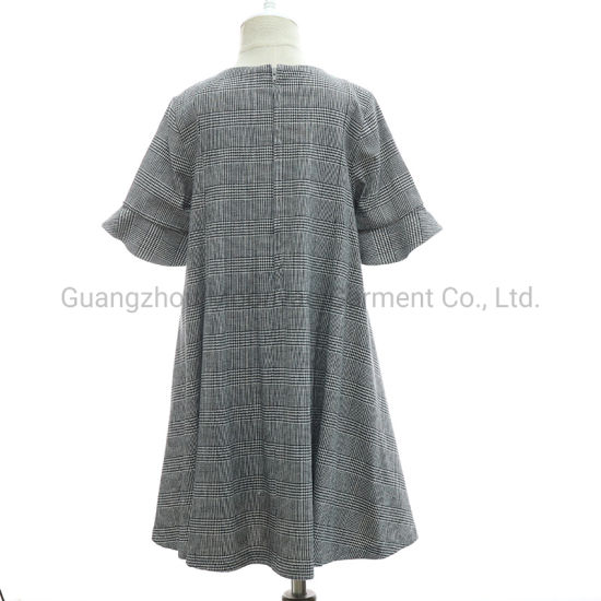 China Long Casual Sash Plaid Autumn Winter Dresses For Pretty Junior Girls Fashion China Flower Girl Dresses And Smocked Dresses Price
