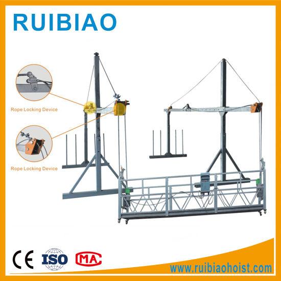 Building Facades Cleaning Equipment Aluminium Alloy Suspended Platform