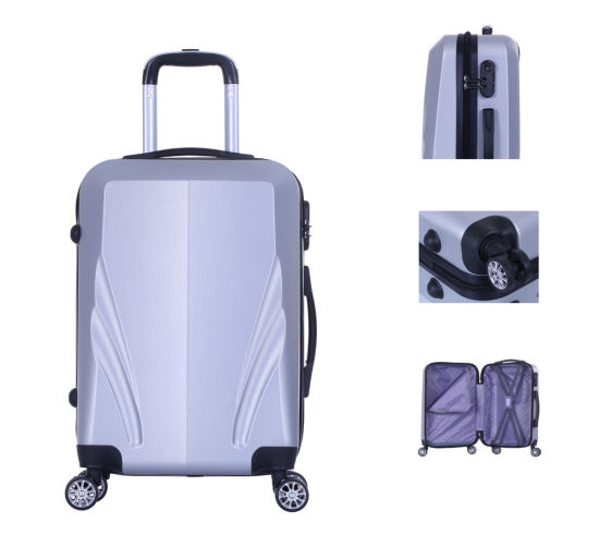 2019 Popular Design Good Quality ABS Luggage Traveling Suitcases Set -Xha136