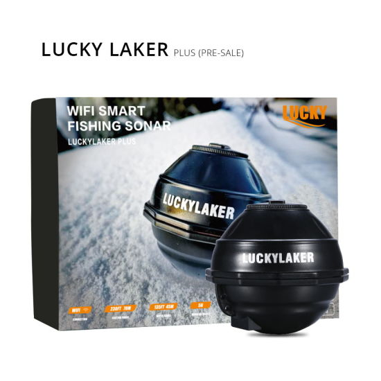 Lucky Fish Finder Smart Portable Fish Finder FF916s for Boat Fishing