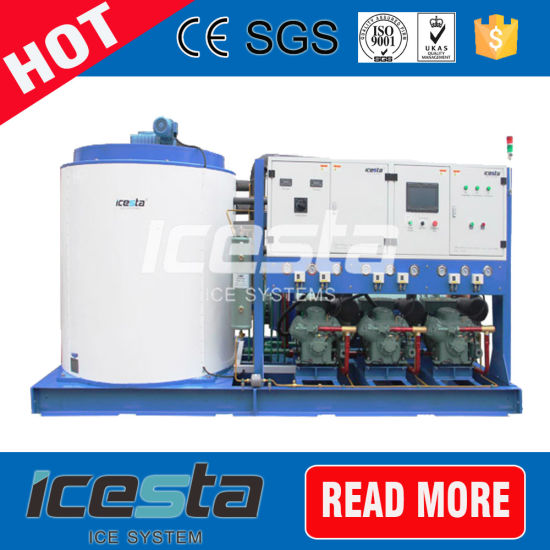 Industry Flake Ice Machine 20 Ton for Concrete Construction