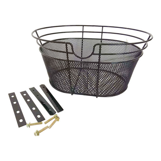 Popular Fruit Steel Mesh and Wire Bicycle Basket of Bicycle Parts
