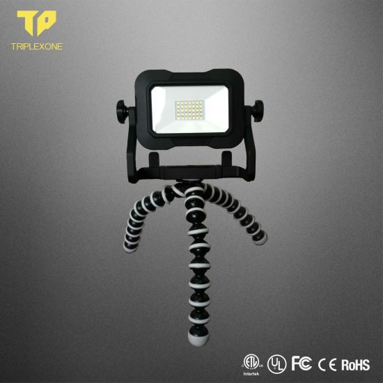 Portable 10W LED Rechargeable Work Light for Vertical Farming Camping/Mopping/ Finshing LED Light