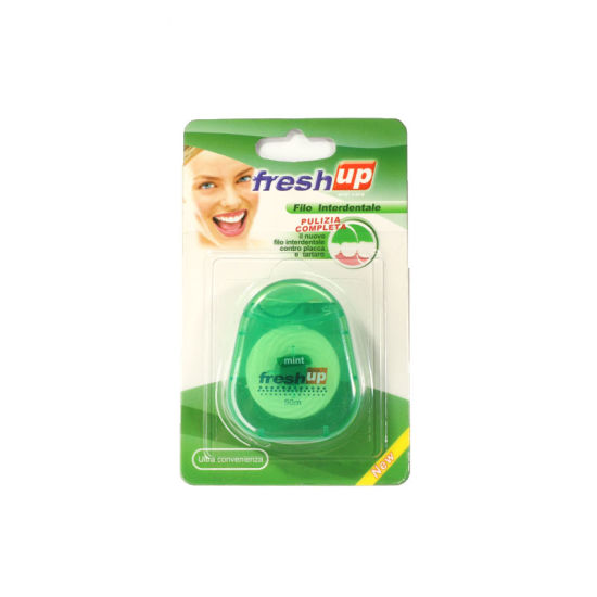 2019 New Oval Shape Dental Floss pictures & photos