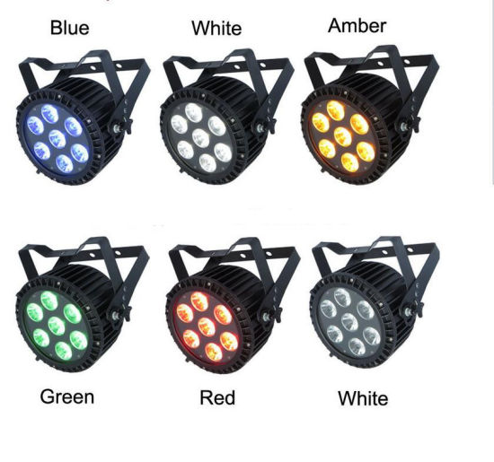Lamps Waterproof 7X15W 5in1wedding Decoration, DJ Lights, Studio PAR Light pictures & photos