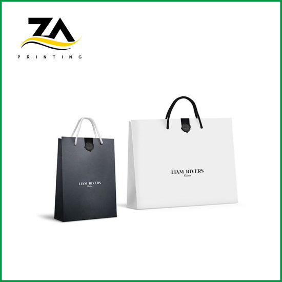 High Quality Paper Packing Cotton Handle Paper Bag