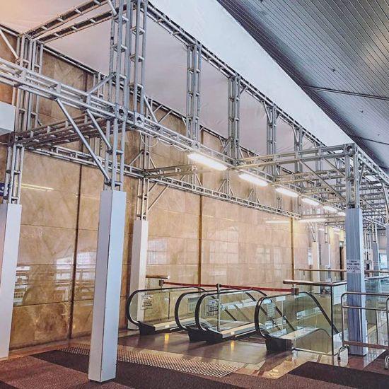 Frame Truss Structure Aluminum Worktable Truss Sports Ground Truss