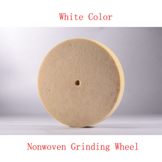 "8""X1"" 8p Non Woven Grinding Wheel Nonwoven Grinding Disc pictures & photos"