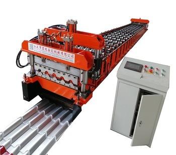 Roofing Panel Sheet Formed Equipment Glazed Making Machine