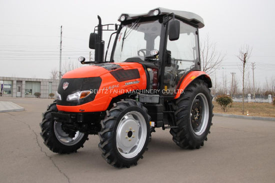 Four Wheel 60HP 4WD High Quality Agricultural Farming Tractor with Cabin