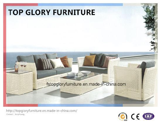 Sofa Set Rattan Furniture Outdoor Garden Tg 038