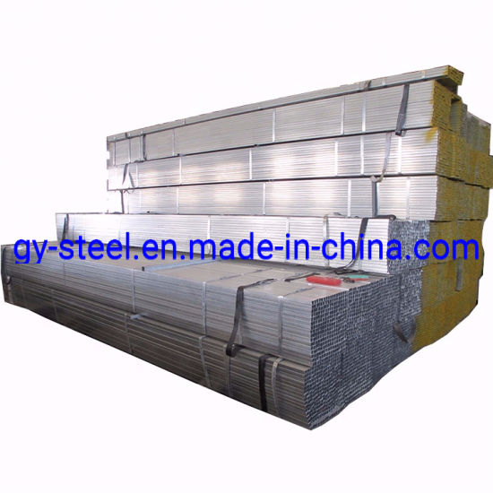 Hin Wt Galvanized Pipe Black Iron 40X40X3mm Galvanized Square Steel Tube