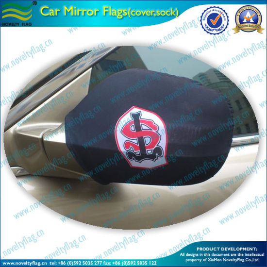Printing National Advertising Car Mirror Flag Cover (B-NF11F14007) pictures & photos