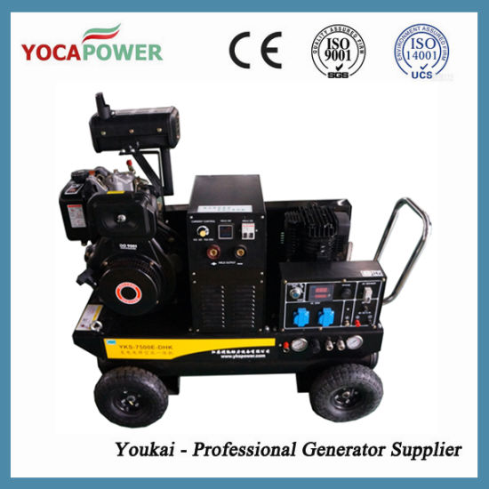 5kw Diesel Generator with Welder and Air Compressor Function pictures & photos