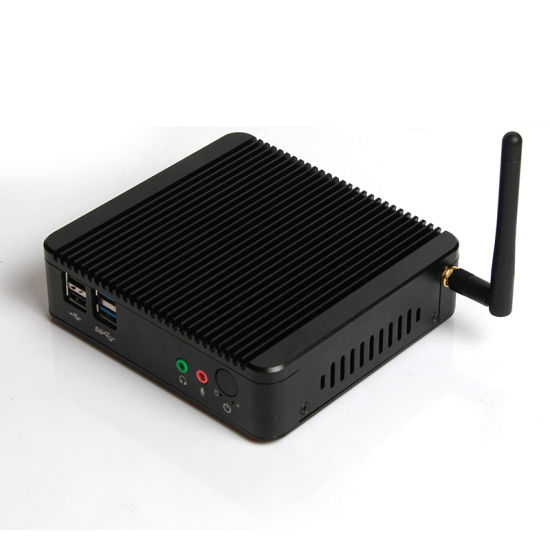 Dual LAN J1800 Fanless Mini PC Computer pictures & photos