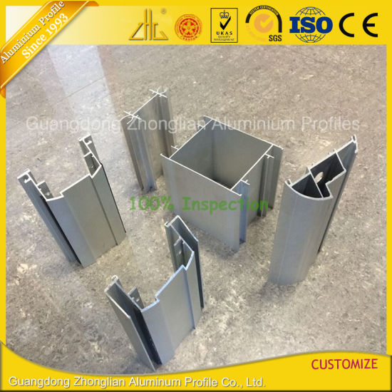 Customized Anodized Aluminium Alloy Profile for Office Partition pictures & photos