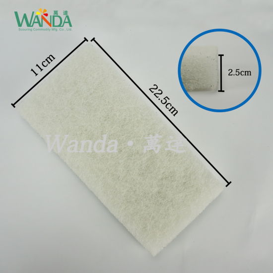 Hot Sale White Super Floor Buffing Cleaning Pad Polishing Pad pictures & photos