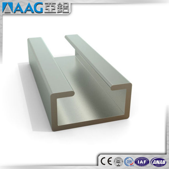 Extruded Aluminum/Aluminium U and C Channel