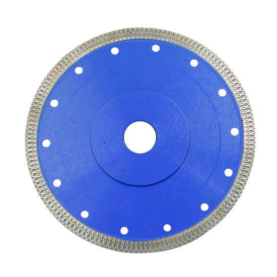 180 mm Super Thin Hot Pressed Diamond Saw Blade for Cutting Tile pictures & photos