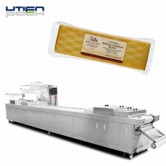 Vacuum Package for Fresh Cheese, Butter Auto Packaging Line