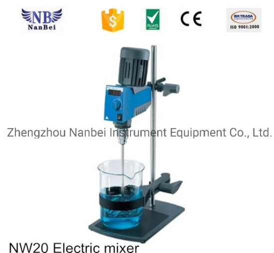 Nw20 Lab Use Mixing Equipment Electric Mixer pictures & photos