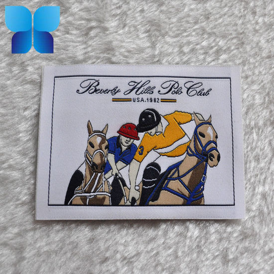 High Grade Customized Woven Label with Rich Colors