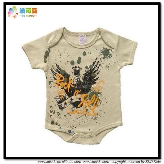 New Design Baby Wear Newborn Boy Bodysuits