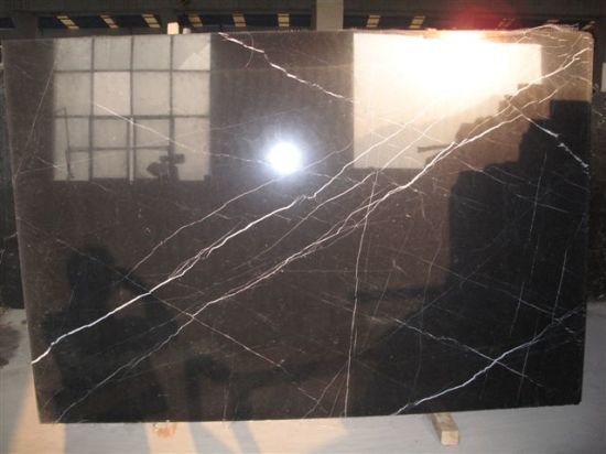 Black Marble White Vein Marquina