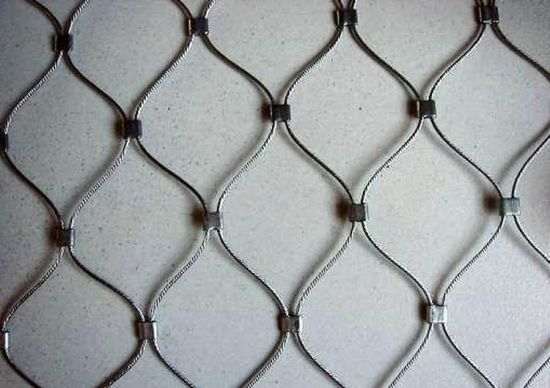China Protection Mesh Netting Stainless Steel Wire Rope Mesh - China ...
