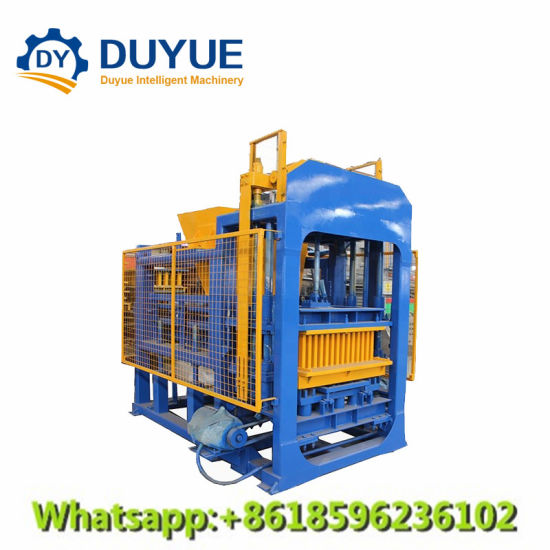 Qt6-15 Concrete Paver Block Machine, Machine Manufacturing Brick and Concrete Block, Automatic Concrete Brick Making Machine, Grass Paver Molds pictures & photos