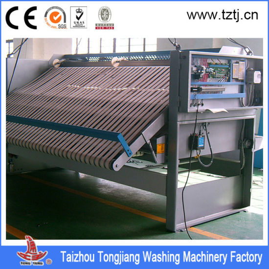 Hotel Towel/Bedsheets/Quilt Cover Folding Machine in 3 Meter for Linen pictures & photos