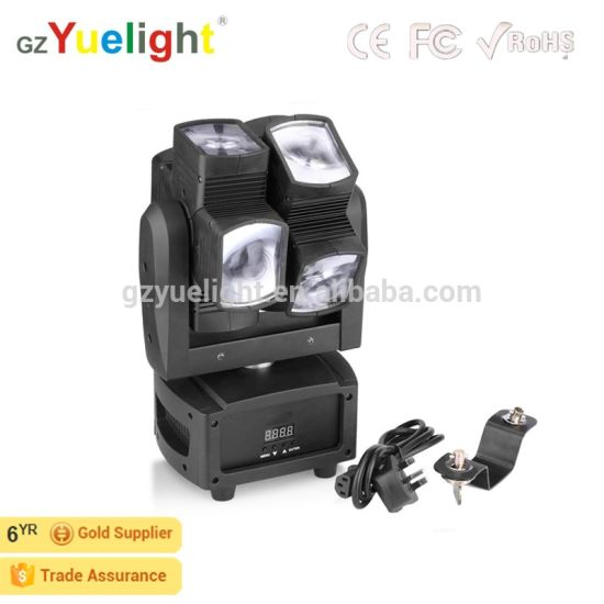 LED Hot Wheel 8*10W 4in1 RGB Moving Head Disco Light