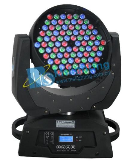 90*5W RGB LED Moving Head Light with Zoom