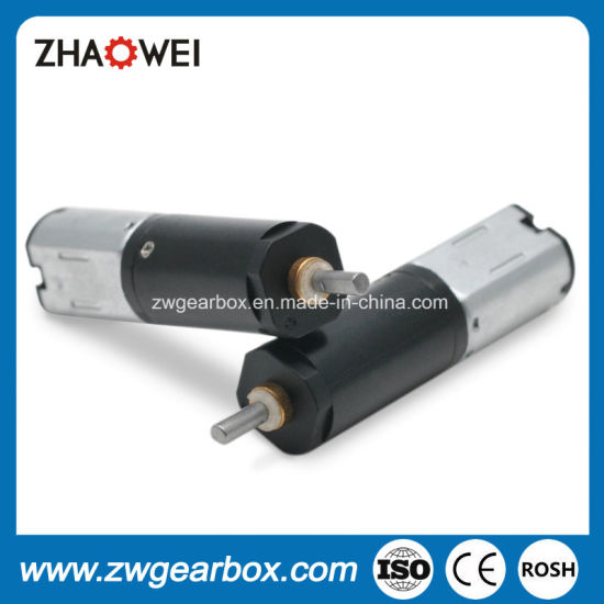 3V High Torque Low Rpm Small Transmission Gearbox Motor pictures & photos