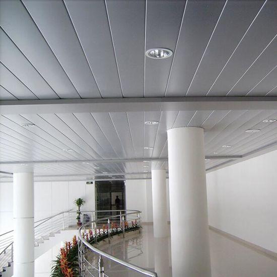 Metal Suspended False C Shaped Strip Ceiling For Interior U0026 Exterior  Decorative