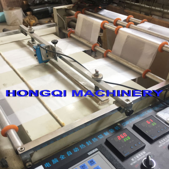 Heat Cutting Bag Making Machine pictures & photos