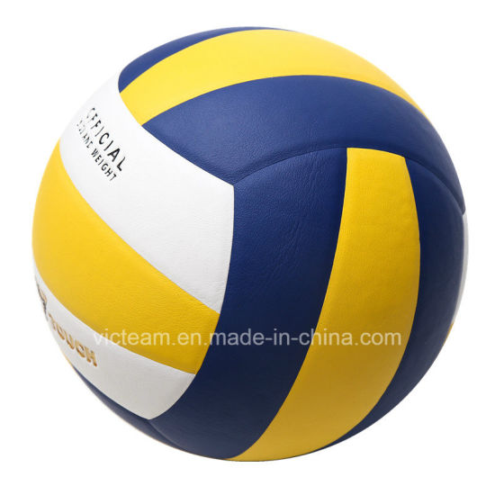 High Quality No Logo Size 5 Competition Volleyball pictures & photos