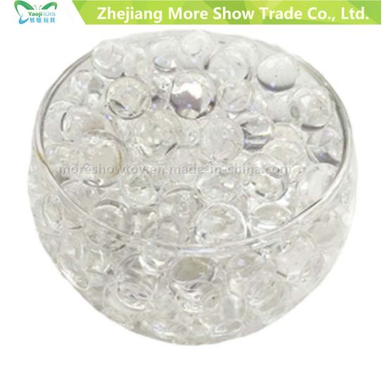 China Wholesale Beautiful High Clear Vase Water Beads Crystal Soil