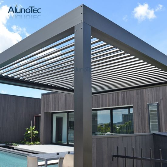 Pergola Adjustable Louvres Outdoor Roof Louvres - China Pergola Adjustable Louvres Outdoor Roof Louvres - China