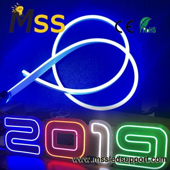 Mini Neon Light 6X13mm 12V Silicone Flex LED Neon for Neon Sign