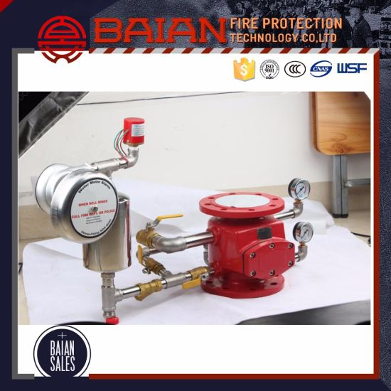 Wet Fire Water Alarm Valve pictures & photos